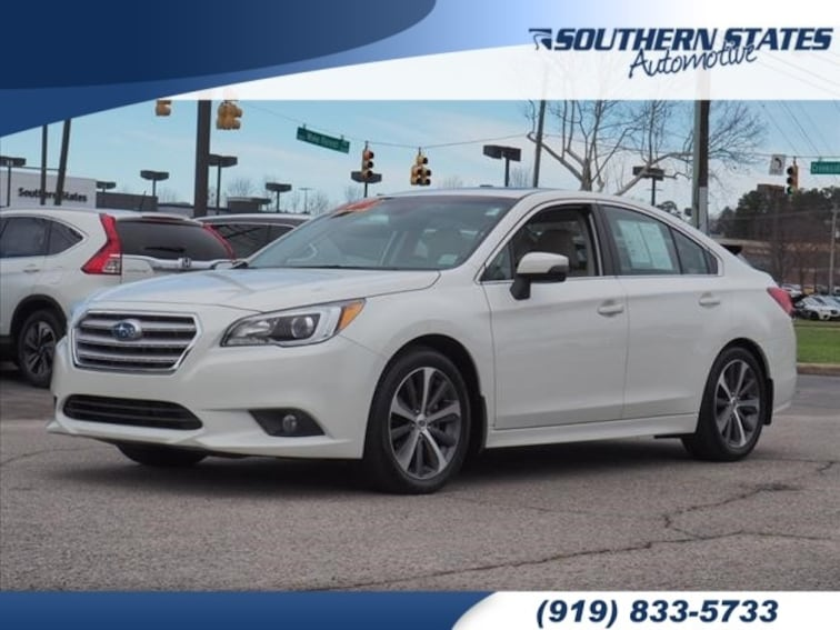 Used 2017 Subaru Legacy 2.5i Limited with Sedan 4S3BNAN62H3007975 in Raleigh