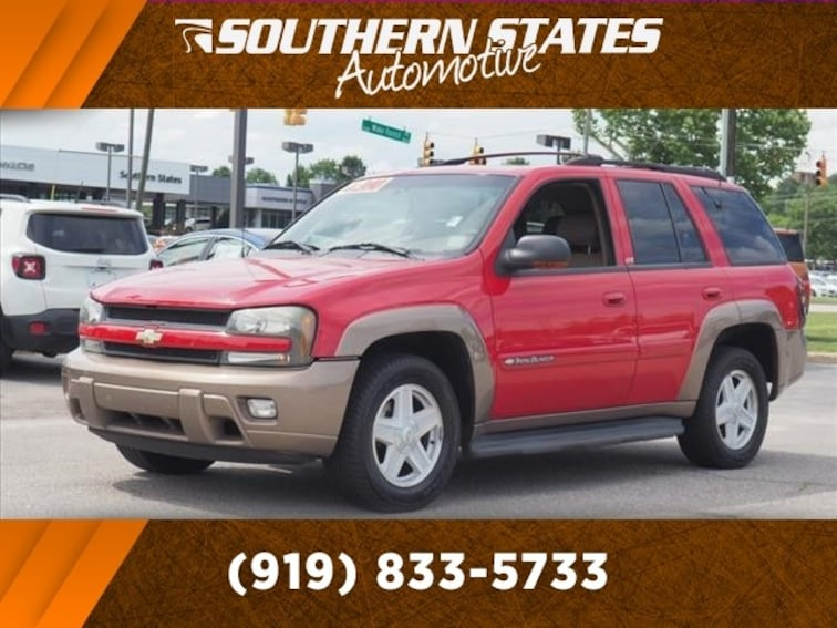 Used 2002 Chevrolet TrailBlazer SUV 1GNDS13S122237528 in Raleigh