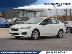 New 2019 Subaru Impreza 2.0i Sedan 4S3GKAA6XK1609983 in Raleigh, NC