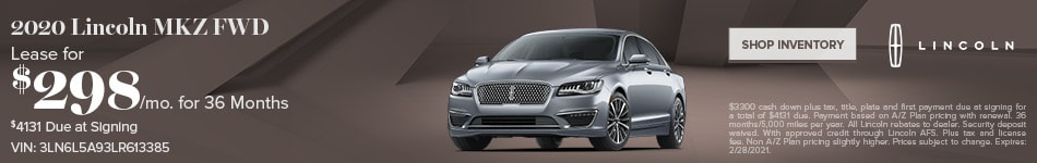 New 2020 Lincoln MKZ | Lease