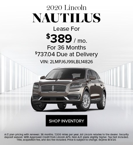 New 2020 Lincoln Nautilus | Lease Offer