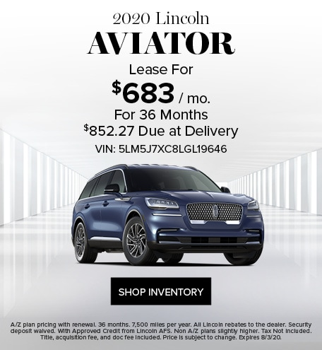 New 2020 Lincoln Aviator | Lease Offer