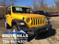 New 2019 Jeep Wrangler SPORT S 4X4 Sport Utility for sale near Pittsburgh