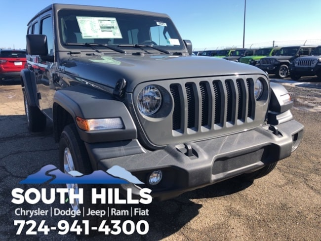 2019 Jeep Wrangler UNLIMITED SPORT S 4X4 Sport Utility for sale near Pittsburgh