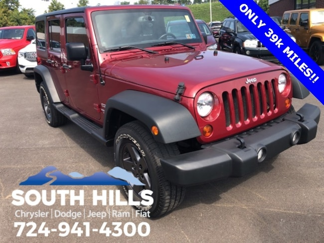 2013 Jeep Wrangler Unlimited Sport SUV for sale near Pittsburgh