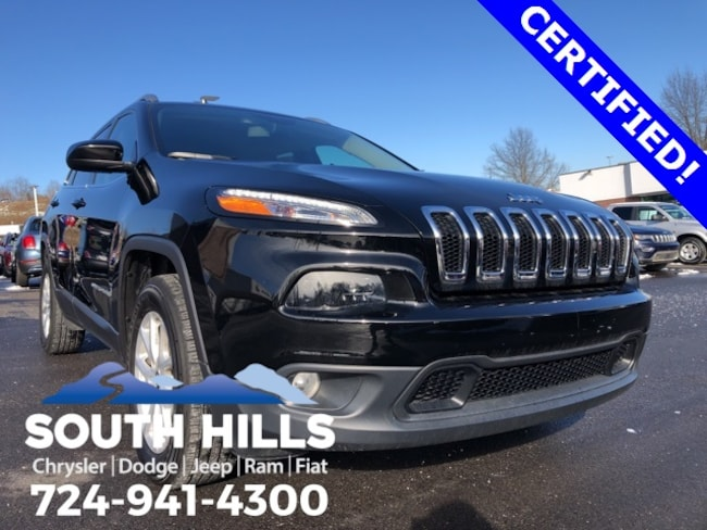2018 Jeep Cherokee Latitude Plus 4x4 SUV for sale near Pittsburgh