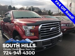 Used 2015 Ford F-150 Truck SuperCrew Cab for sale near Pittsburgh