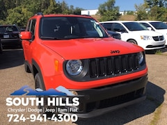 New 2018 Jeep Renegade ALTITUDE 4X4 Sport Utility for sale near Pittsburgh