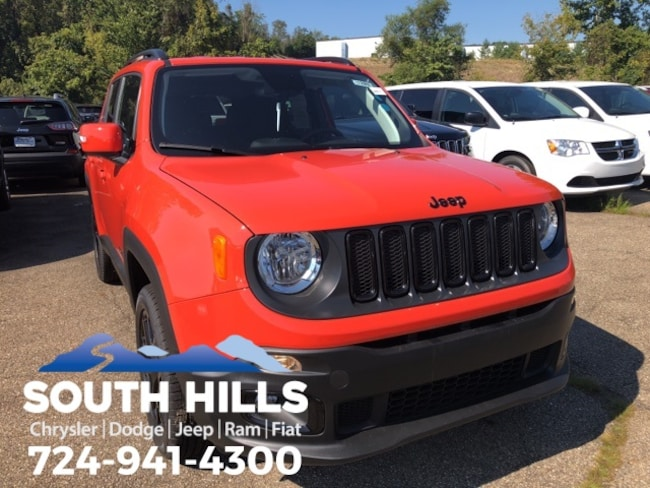 2018 Jeep Renegade ALTITUDE 4X4 Sport Utility for sale near Pittsburgh