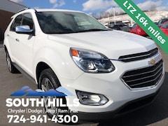 2016 Chevrolet Equinox LTZ SUV for sale near Pittsburgh