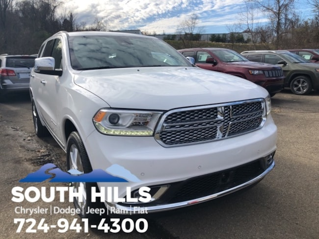 2019 Dodge Durango CITADEL AWD Sport Utility for sale near Pittsburgh