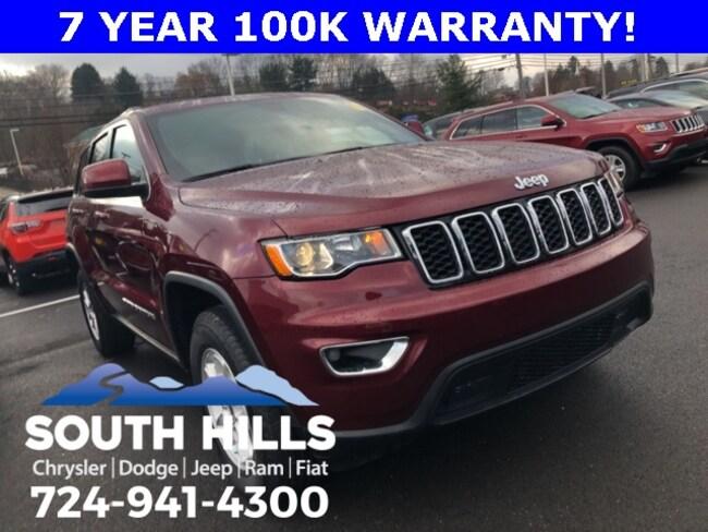 2018 Jeep Grand Cherokee Laredo 4x4 SUV for sale near Pittsburgh