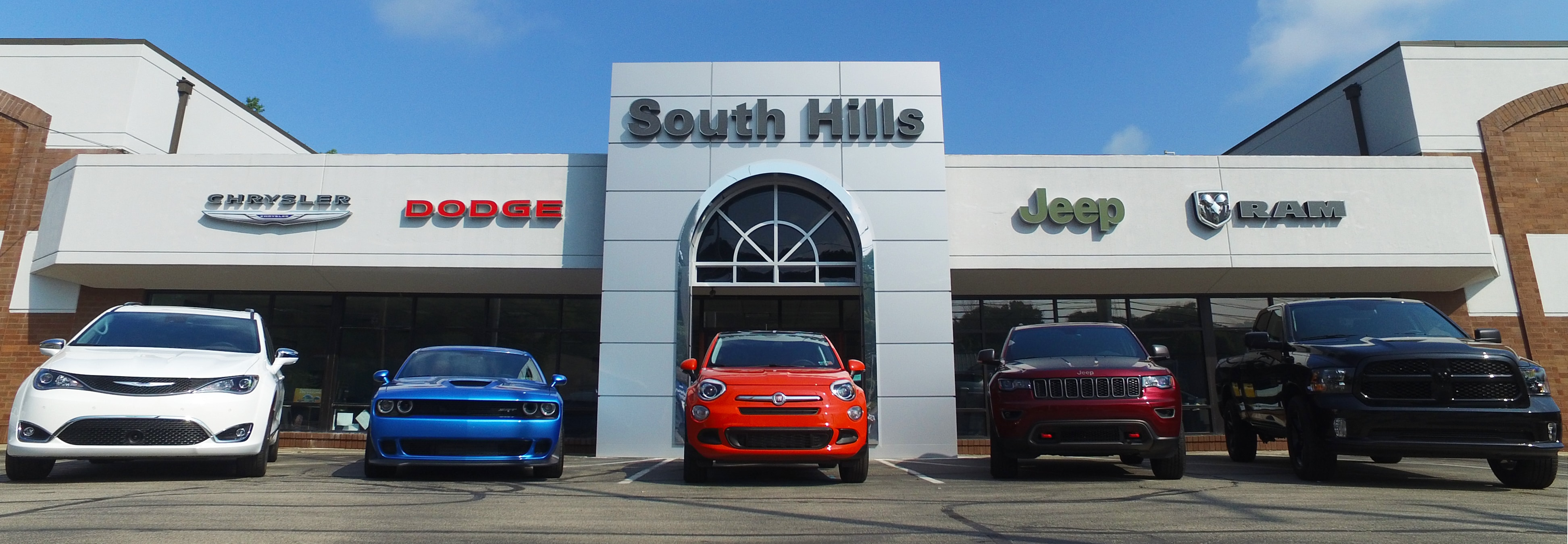 South Hills Chrysler Dodge Jeep Ram And FIAT  Washington County And The  Greater Pittsburgh Areau0027s Best Location For A Wide Selection Of Chrysler,  Dodge, ...
