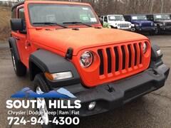 2019 Jeep Wrangler SPORT S 4X4 Sport Utility for sale near Pittsburgh