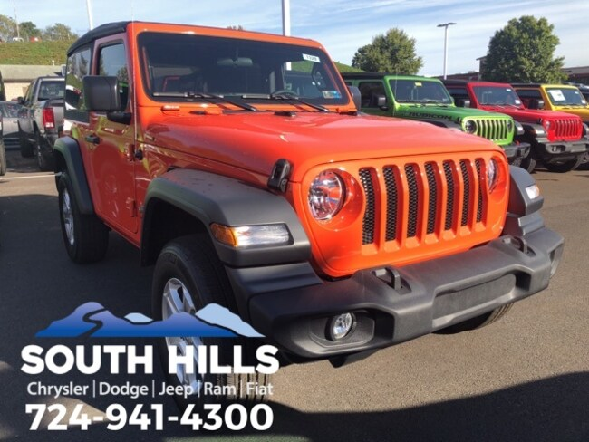 2018 Jeep Wrangler SPORT S 4X4 Sport Utility for sale near Pittsburgh