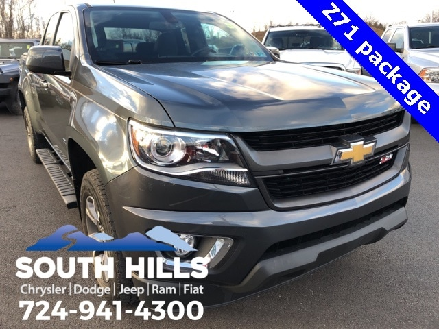 2015 Chevrolet Colorado Z71 Truck Extended Cab for sale near Pittsburgh