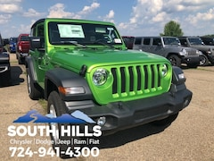 New 2018 Jeep Wrangler SPORT S 4X4 Sport Utility for sale near Pittsburgh