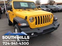 New 2019 Jeep Wrangler SPORT S 4X4 Sport Utility for sale near Pittsburgh