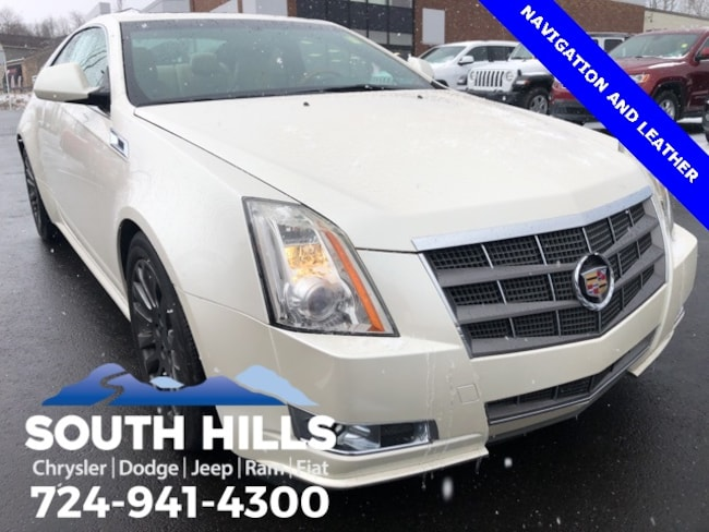 2011 CADILLAC CTS Premium Coupe for sale near Pittsburgh
