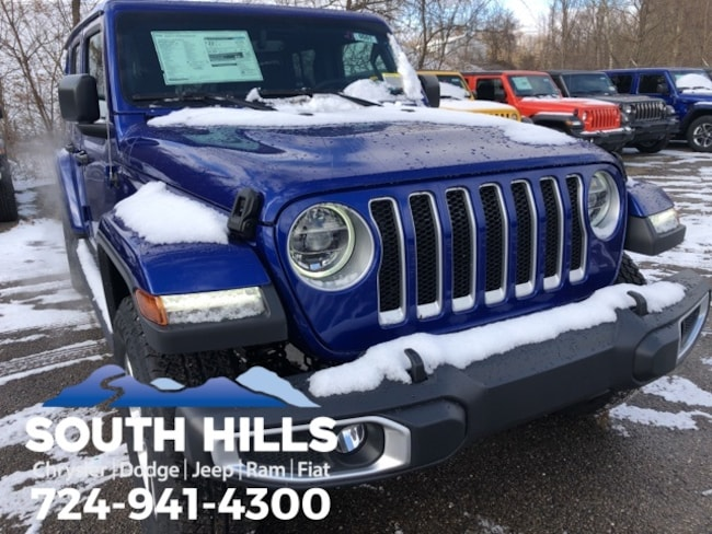 2019 Jeep Wrangler UNLIMITED SAHARA 4X4 Sport Utility for sale near Pittsburgh
