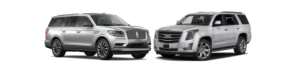 2018 Lincoln Navigator and 2018 Cadillac Escalade in Pittsburgh