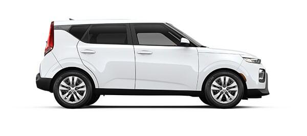 A white 2020 Kia Soul LX