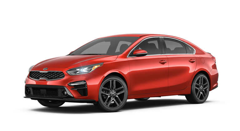 2019 Kia Forte in Red