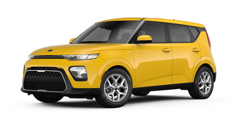 Yellow 2020 Kia Soul S
