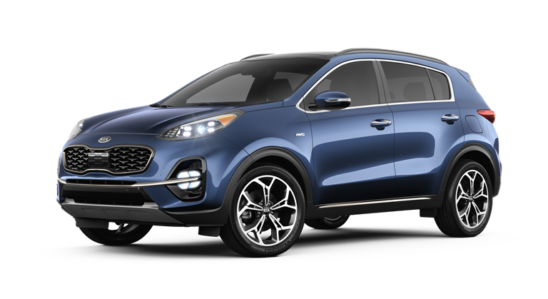 Blue 2020 Kia Sportage SX Turbo