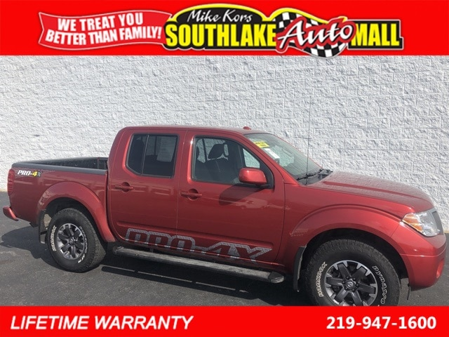 2016 Nissan Frontier PRO-4X Truck Crew Cab For Sale in Merrillville, IN