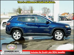 New 2019 Jeep Compass LATITUDE 4X4 Sport Utility 3C4NJDBB2KT689277 Rice Lake, WI