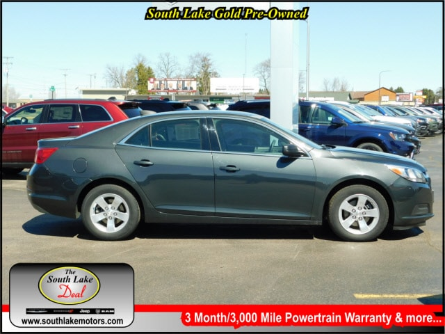 Used 2015 Chevrolet Malibu LS w/1FL Sedan Rice Lake WI