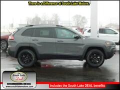 New 2019 Jeep Cherokee TRAILHAWK 4X4 Sport Utility 1C4PJMBX6KD349723 Rice Lake, WI
