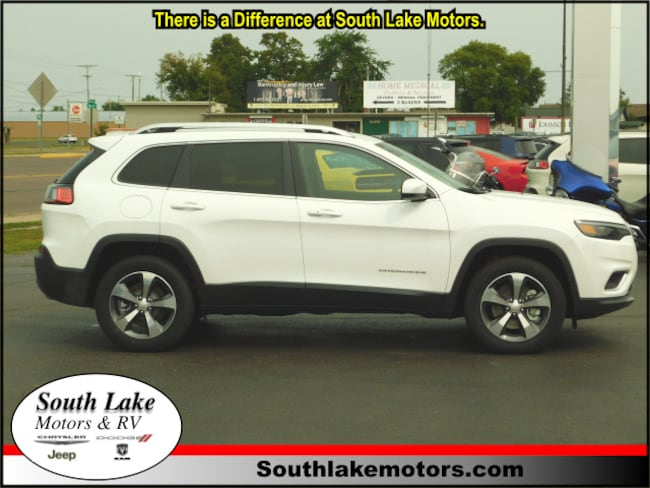 New 2019 Jeep Cherokee LIMITED 4X4 Sport Utility Rice Lake WI
