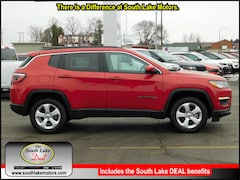 New 2018 Jeep Compass LATITUDE 4X4 Sport Utility 3C4NJDBB4JT314425 Rice Lake, WI
