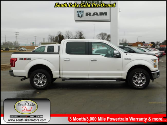 Used 2015 Ford F-150 Truck SuperCrew Cab Rice Lake WI