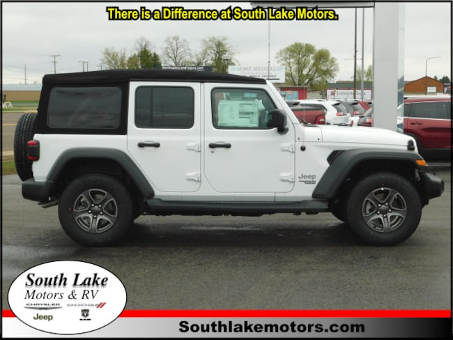 New 2018 Jeep Wrangler UNLIMITED SPORT S 4X4 Sport Utility Rice Lake WI