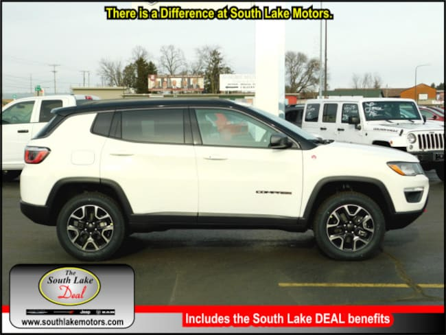 New 2019 Jeep Compass TRAILHAWK 4X4 Sport Utility Rice Lake WI