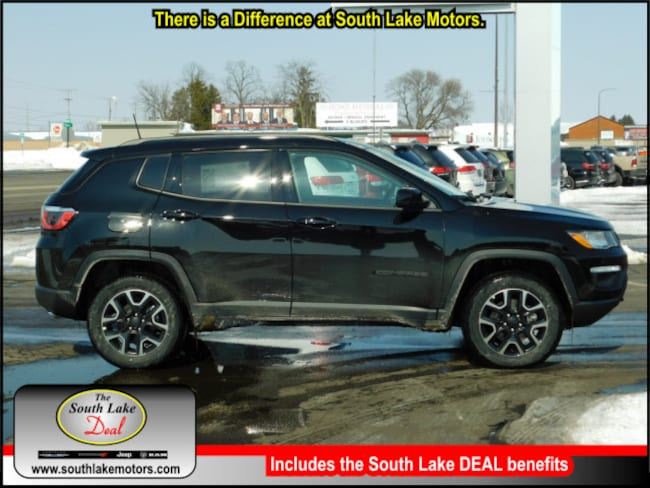 New 2019 Jeep Compass UPLAND 4X4 Sport Utility Rice Lake WI