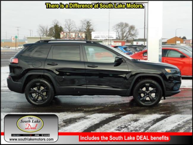 New 2019 Jeep Cherokee ALTITUDE 4X4 Sport Utility Rice Lake WI