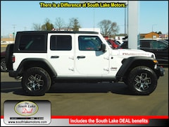 New 2019 Jeep Wrangler UNLIMITED RUBICON 4X4 Sport Utility 1C4HJXFG1KW600801 Rice Lake, WI