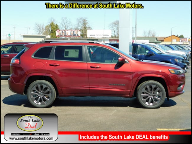 New 2019 Jeep Cherokee HIGH ALTITUDE 4X4 Sport Utility Rice Lake WI