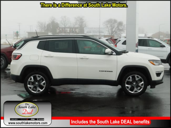 New 2019 Jeep Compass LIMITED 4X4 Sport Utility Rice Lake WI