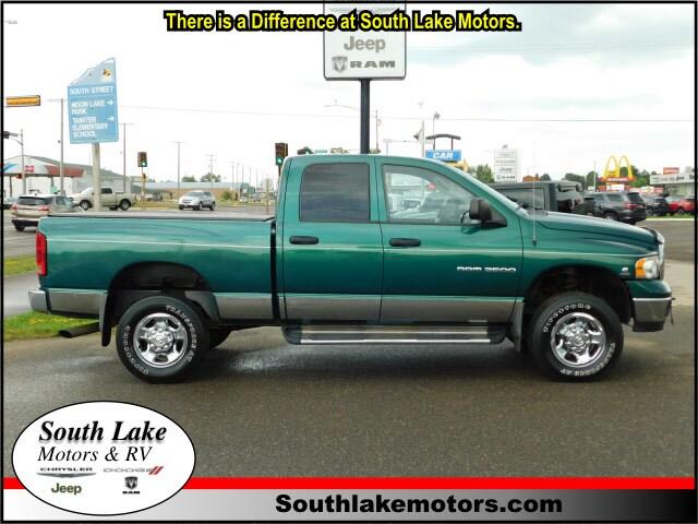 Used 2004 Dodge Ram 2500 SLT/Laramie Truck Quad Cab Rice Lake WI
