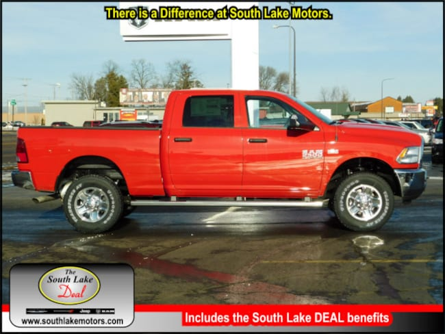 New 2018 Ram 2500 TRADESMAN CREW CAB 4X4 6'4 BOX Crew Cab Rice Lake WI