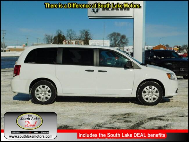 New 2019 Dodge Grand Caravan SE Passenger Van Rice Lake WI