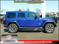 New 2019 Jeep Wrangler UNLIMITED SAHARA 4X4 Sport Utility 1C4HJXEG1KW573410 Rice Lake, WI