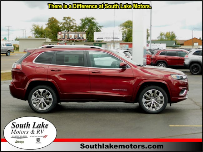 New 2019 Jeep Cherokee OVERLAND 4X4 Sport Utility Rice Lake WI