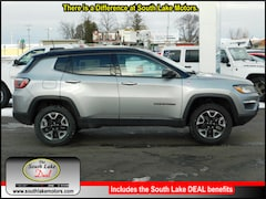 New 2018 Jeep Compass TRAILHAWK 4X4 Sport Utility 3C4NJDDB0JT367166 Rice Lake, WI