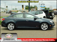 Used 2016 Chevrolet Cruze Limited LTZ Auto Sedan 1G1PG5SB1G7135228 Rice Lake WI